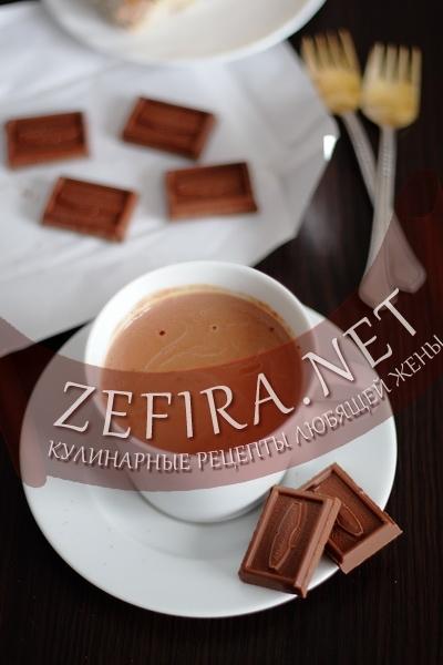 Горячий шоколад в домашних условиях (фото)