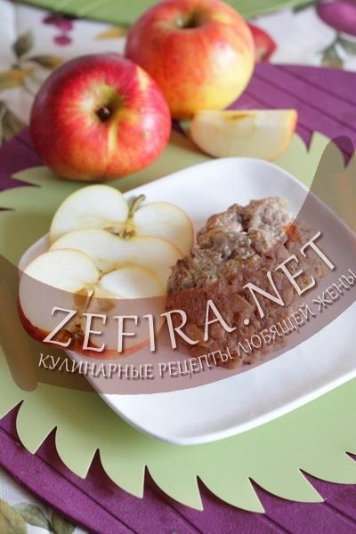 Котлеты с яблоком и перцем (фото)