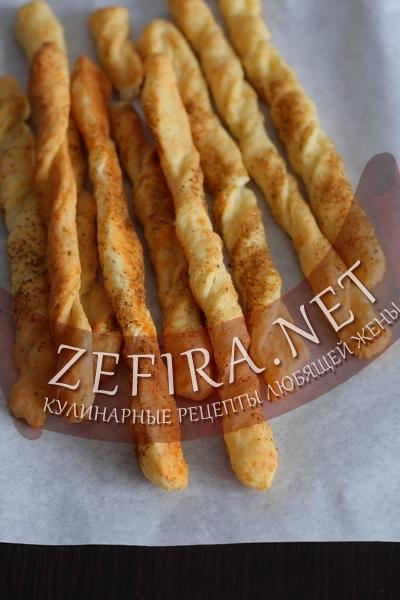Сырные палочки – рецепт с фото