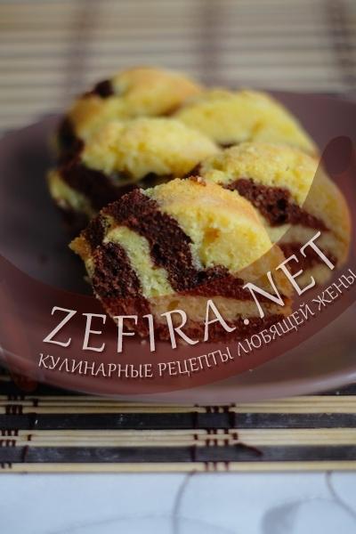 Кекс с тыквой и шоколадом (фото)