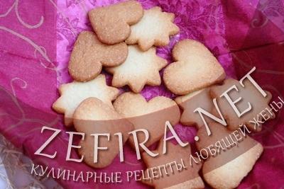 Рецепт песочного печенья (фото)