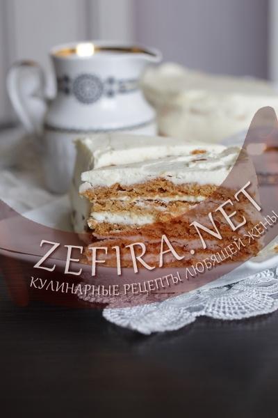 Торт медовый домашний (фото)