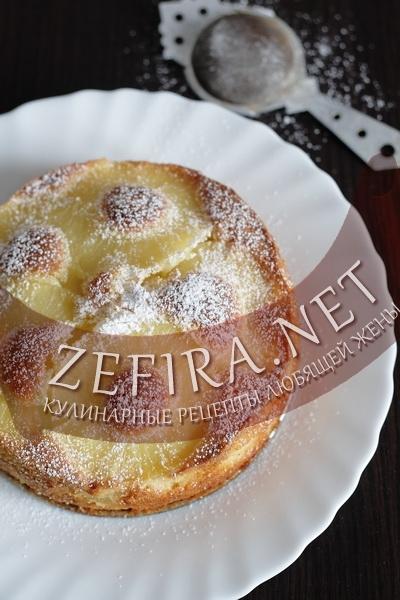 Пирог с ананасами (фото)