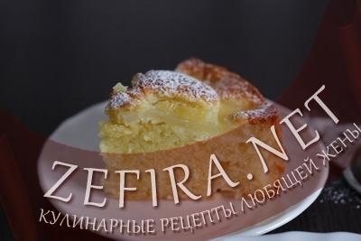 Пирог с консервированными ананасами (фото)