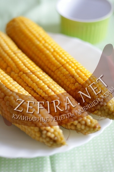 Вареная кукуруза (фото)