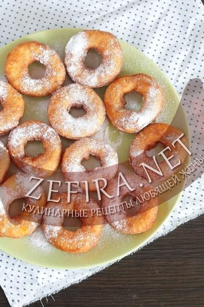 Пончики из творога рецепт с фото