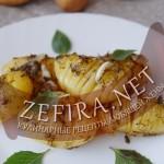 Картошка гармошка — рецепт запеченного картофеля с травами