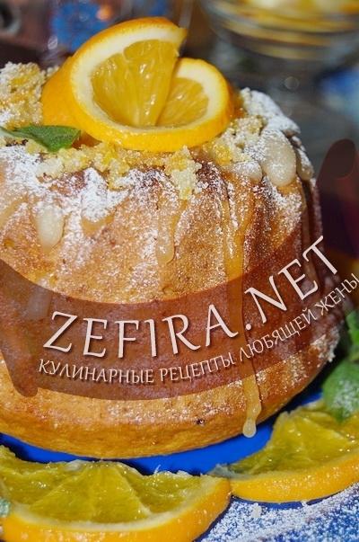 Тыквенный кекс с апельсином - рецепт и фото