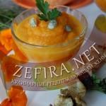 Пюре из тыквы — рецепт с морковью