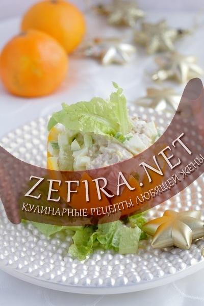 рецепты салатов и их подача