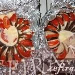 Баклажановые кольца запеченные