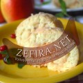 Бисквитный рулет с яблоками – фото рецепта
