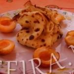 Рецепт мешочков из блинов с ароматным абрикосом