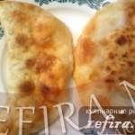 Чебуреки — очередной рецепт для конкурса от Елены