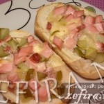 Рецепт вкусного горячего бутерброда «Запеканка»