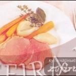 Отварная говядина с морковью