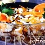 Рецепт салата по-китайски с рисом