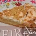 """Рецепт польского пирога с яблоками """"Яблочник"""""""