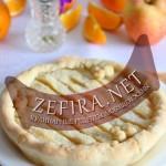 Песочный пирог с яблоками и ароматом апельсина