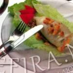 Кальмары фаршированные — вкусная закуска