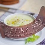 Картофельный суп-пюре с цуккини и сливками
