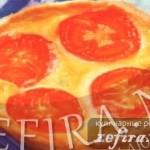 Закусочные корзинки – рецепт со сметанной начинкой