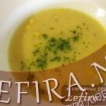 Кукурузно-сырный суп – рецепт из Бельгии