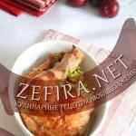 Курица в сладком соусе из слив – простой ужин
