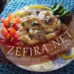 Куриное филе с грибами «Вкусняшка за 20 минут»