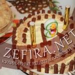 Домашний легкий «Киевский» торт