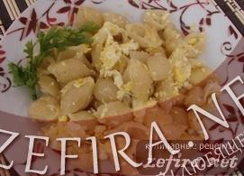 Макароны с яйцами – простой рецепт завтрака