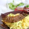 Макароны с соусом из шпината (фото)
