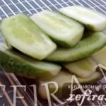 Малосольные огурцы – сухой способ засолки