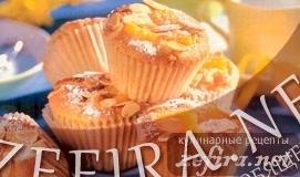 Кулинарный рецепт мандариновых мини-кексов (маффинов)
