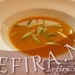 Прянный морковный суп-пюре