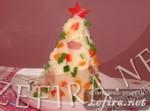 Новогоднее картофельное пюре в виде елочки