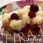 Нежный пирог-суфле с вишнями «Клафути»