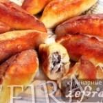 Пирожки печеные с мясной и овощной начинкой