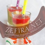 Слоеный десерт из фруктов «Светофор»