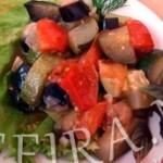 Тушеные овощи или рецепт Рататуя