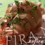 Аппетитная свиная рулька