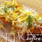 Рыба «По-польски» с морковью и яйцами
