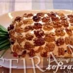 Рецепт салата с ананасом «Ананас»