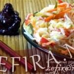 Салат из рисовой (соевой) лапши