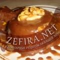 Десерт шоколадно-ореховый