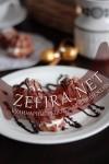 Шоколадные творожные эклеры