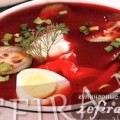 Рецепт холодного супа с овощами и томатным соком