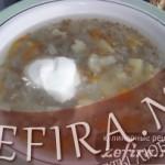 Суп из гречневой крупы