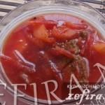 Рецепт супа «Свекольник»