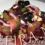 Свекольный салатик «По-новому»